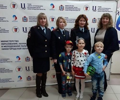 Победители фестиваля отрядов юных инспекторов движения